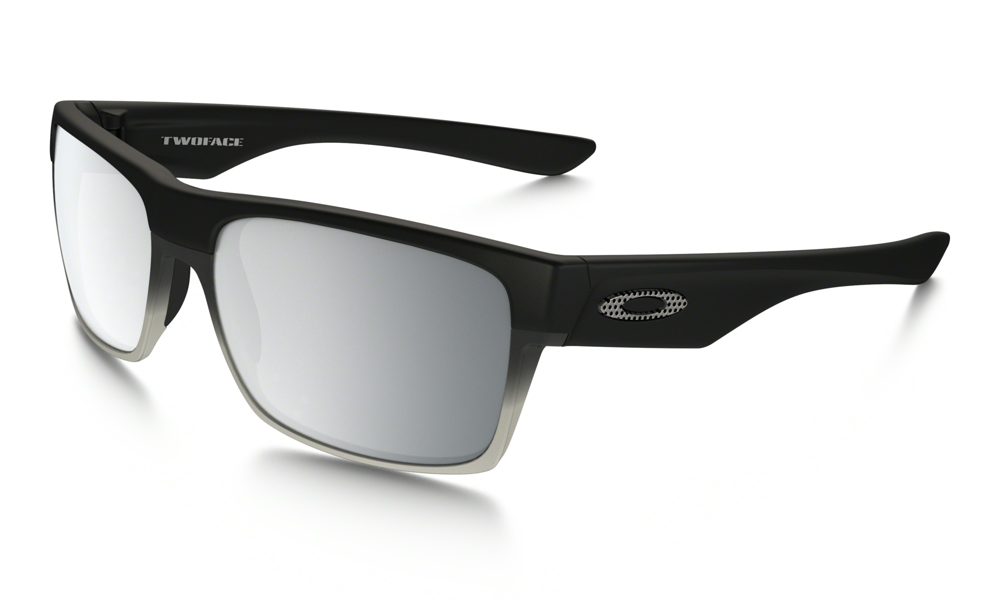 Oakley Twoface Machinist Collection In Matte Black Chrome